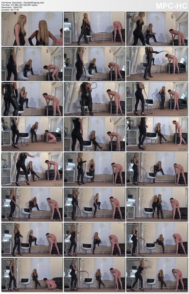 Desire-Her - Double Whipping, Suspended Whipping and Whipping Competion (3 videos)