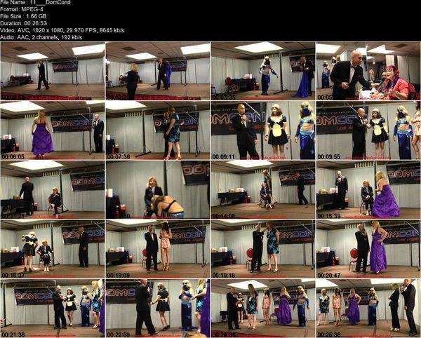Aliceinbondageland - DomConLA 2015 Crossdressing Pageant - Miss DomCon Competition