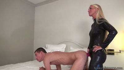 Kinky Mistresses - Kacy Kisha & Queen Lissandra - Suck The Real Cock And Take The Strap-on