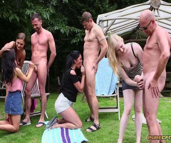 Emma Leigh, Lola Rae, Satine Spark & Tina Kay – Nudist Show Offs – 10/07/16 – FullHD 1080p