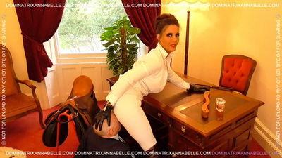 Dominatrix Annabelle - The Equestrian Office BITCH!