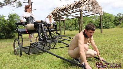 Clubdom - Dahila Rain & Harlow Pony Cart