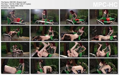 Femdom Empire - Poison Ivy Strap-on Villainess