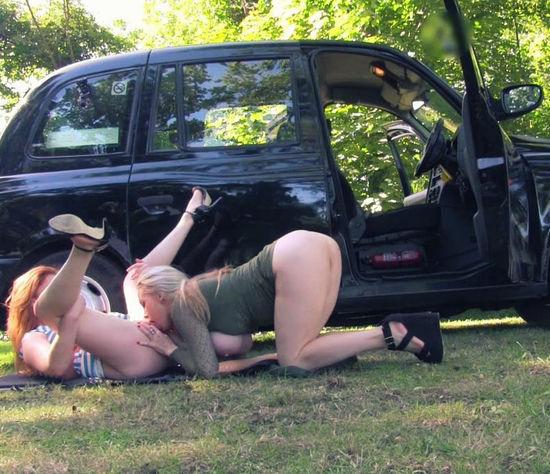 Rebecca M & Princess Paris – Wild Lesbians Share a Massive Dildo – 10/30/16 – FullHD 1080p