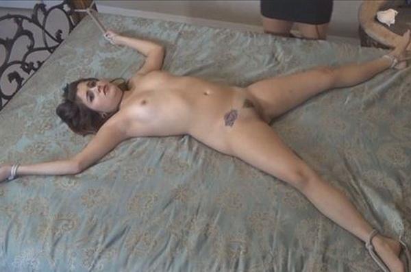 drunk girl stripped