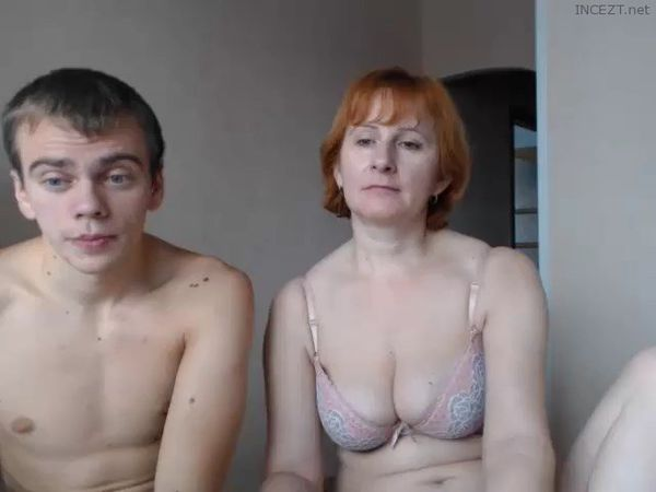 image Mom and not son pay strip poker