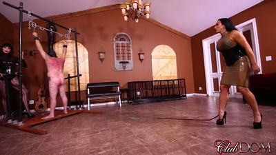 Clubdom - Goddess Cheyenne & Jeab Bardot Whipping