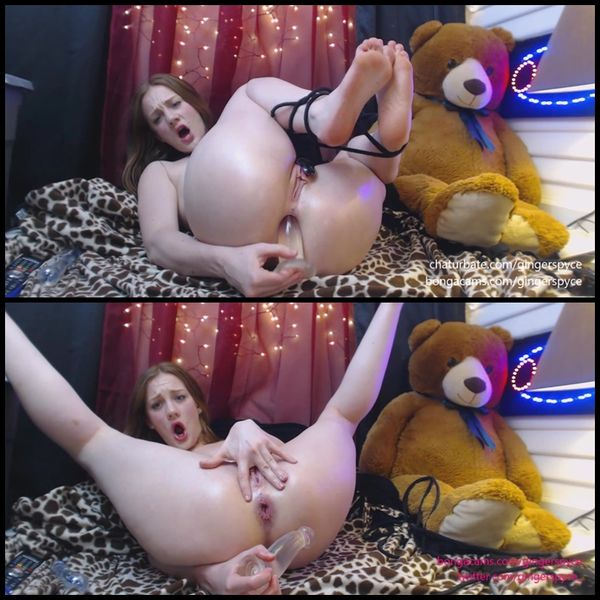 Gingersypce ANAL Domination Hour Live pt1
