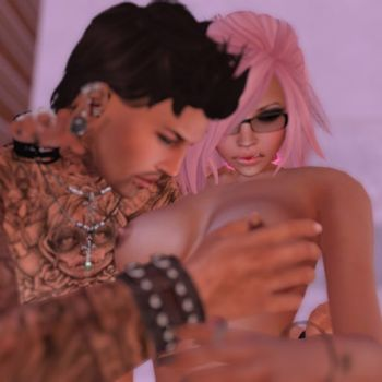 [3D Porn Comic] [Willow Button] Second Life. Pink is beautiful. Part 1