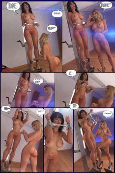 [3D Porn Comic] [StudioAD] Carey and Cate Kinky Adventures