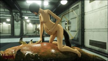 [3D Porn Comic] [Vaesark] CGS14. V labs
