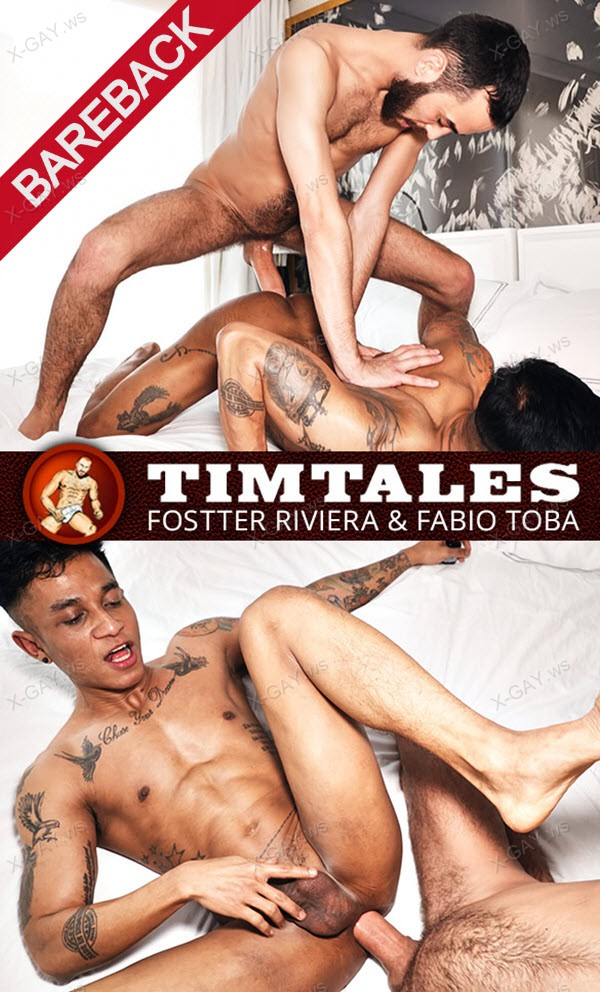 TimTales: Fostter Riviera Barebacks Fabio Toba