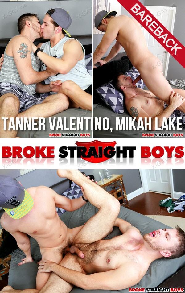 BrokeStraightBoys: Tanner Valentino Drills Mikah Lake (Bareback)