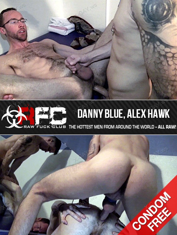 RawFuckClub: Fuck Him Like A Pussy (Danny Blue, Alex Hawk) (Bareback)