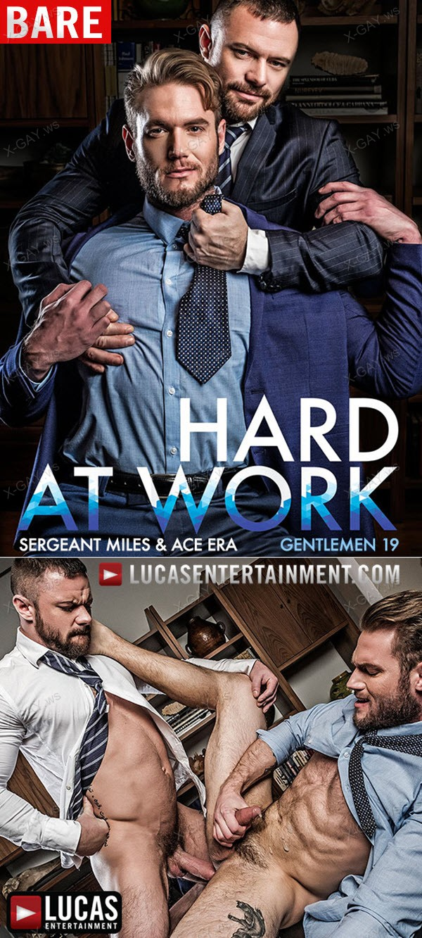 LucasEntertainment: Sergeant Miles Makes Ace Era Earn His Promotion (Bareback)