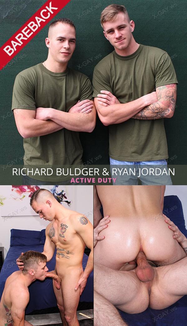 ActiveDuty: Ryan Jordan, Richard Buldger (Bareback)
