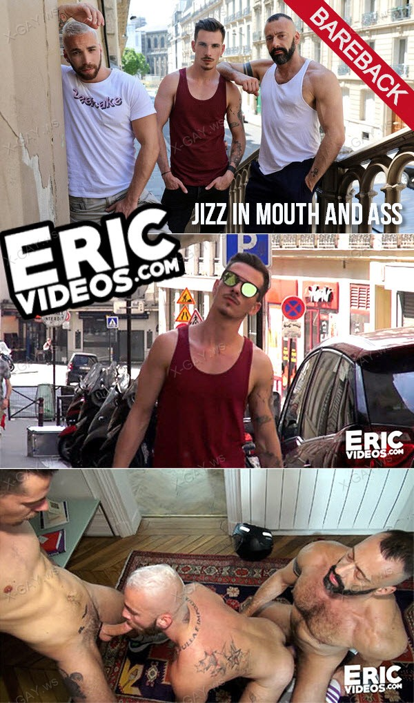 EricVideos: Jizz In Mouth And Ass (Bareback)
