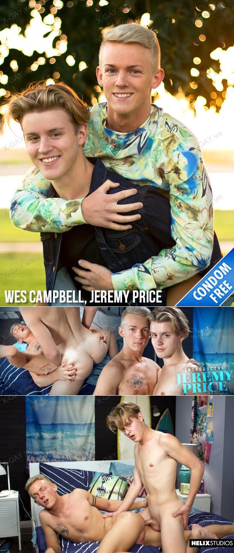 HelixStudios: Introducing Jeremy Price (Wes Campbell, Jeremy Price) (Bareback)
