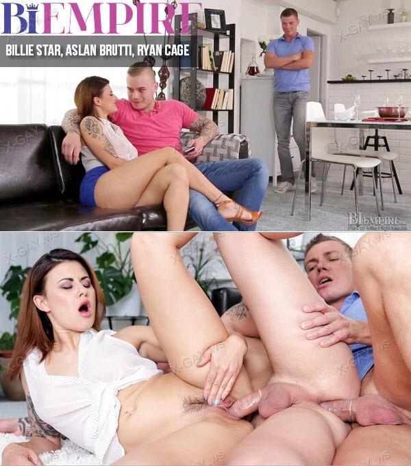 BiEmpire: Bi Cuckold (Billie Star, Aslan Brutti, Ryan Cage)