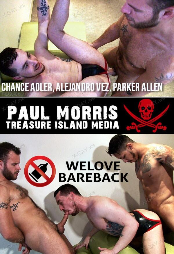TimFuck: Chance Adler, Alejandro Vez, Parker Allen (Bareback)