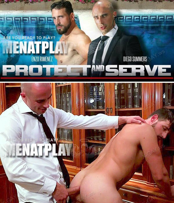 MenAtPlay: Protect And Serve (Enzo Rimenez, Diego Summers)