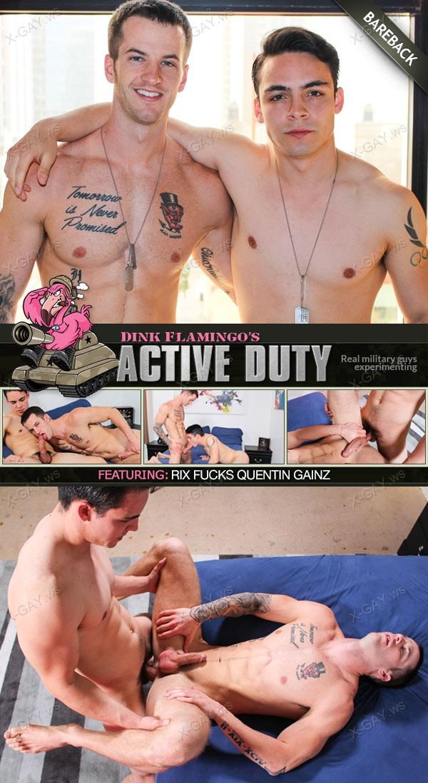 ActiveDuty: Rix, Quentin Gainz (Bareback)