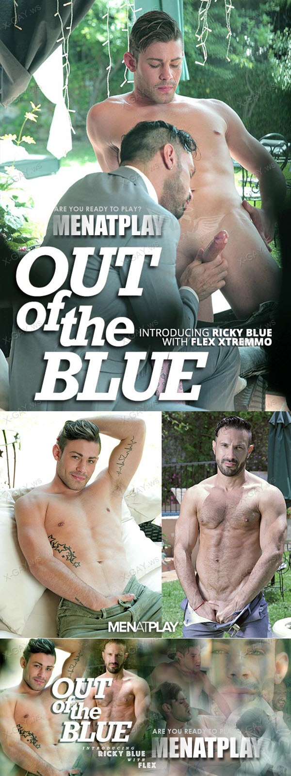 MenAtPlay: Out Of The Blue (Flex, Ricky Blue)