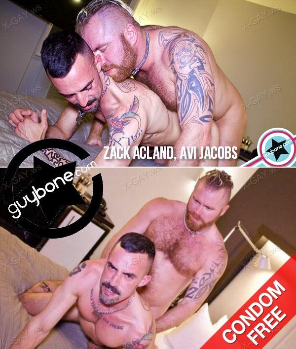 GuyBone: Zack Acland Tops Avi Jacobs Raw