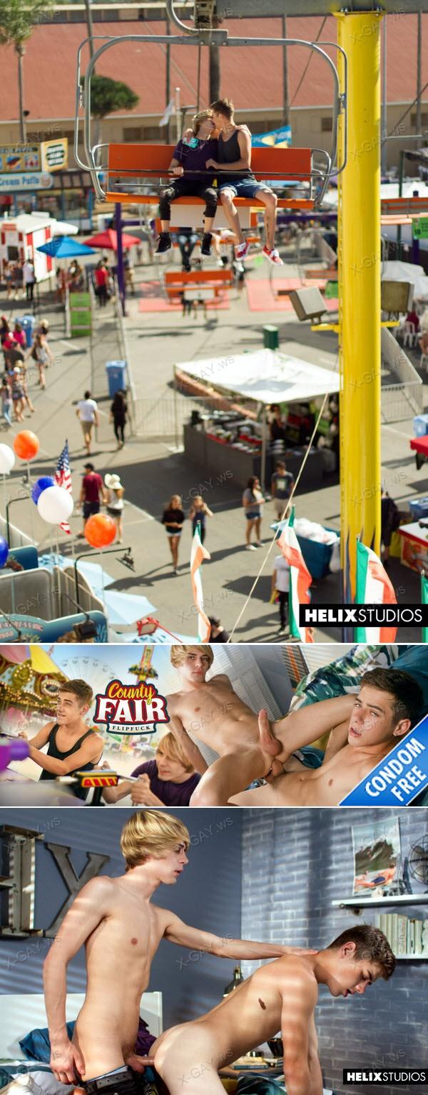 HelixStudios: County Fair Flipfuck (Kyle Ross, Joey Mills) (Bareback)