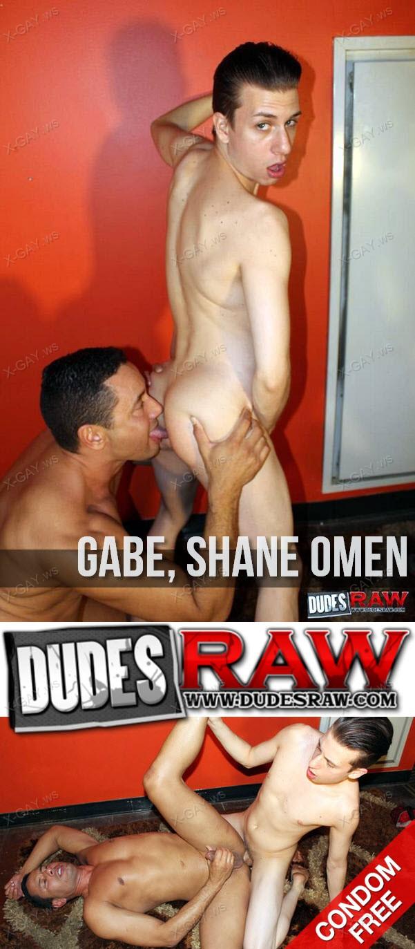 DudesRaw: Flippin' With A Dude (Gabe, Shane Omen) (Bareback)
