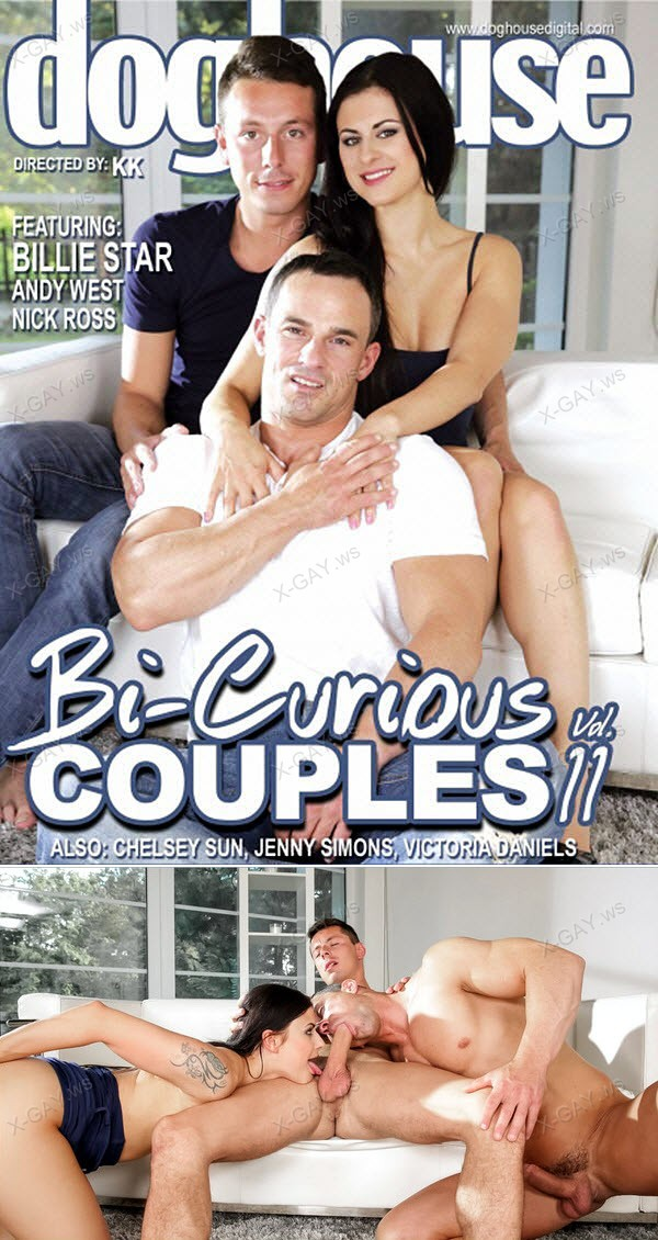 BiEmpire: Bi Curious Couples #11 (Billie Star, Nick Gill, Andy West)