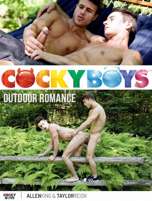 CockyBoys: Outdoor Romance (Allen King, Taylor Reign)