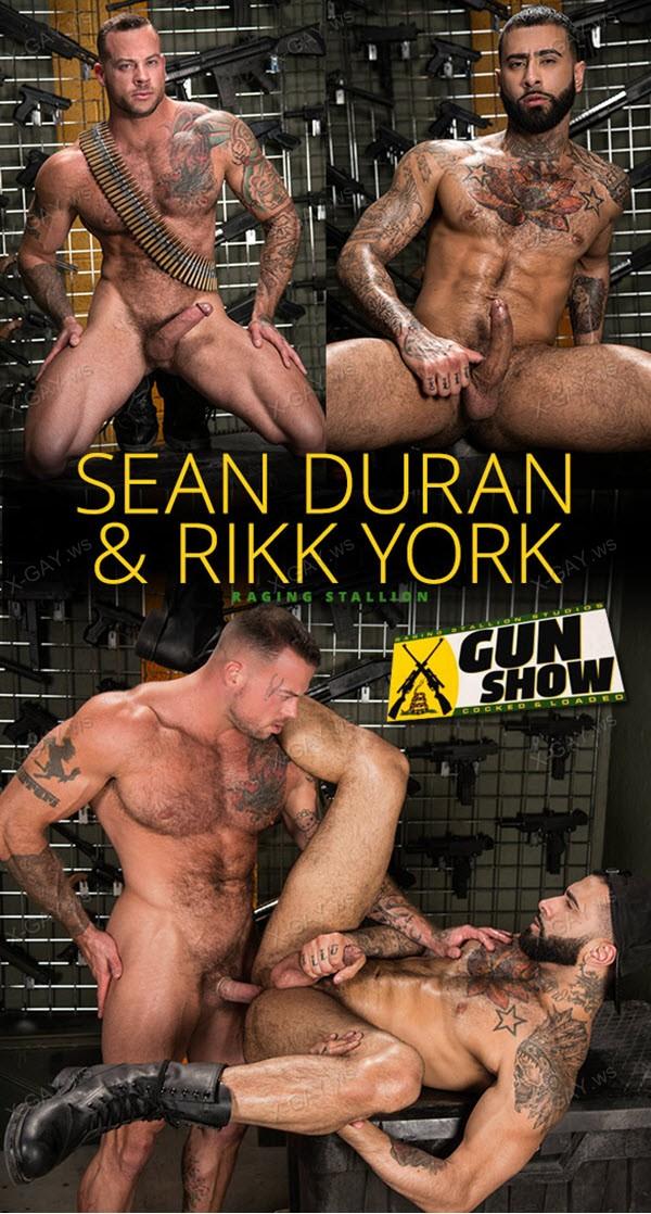 RagingStallion: Gun Show (Sean Duran, Rikk York)