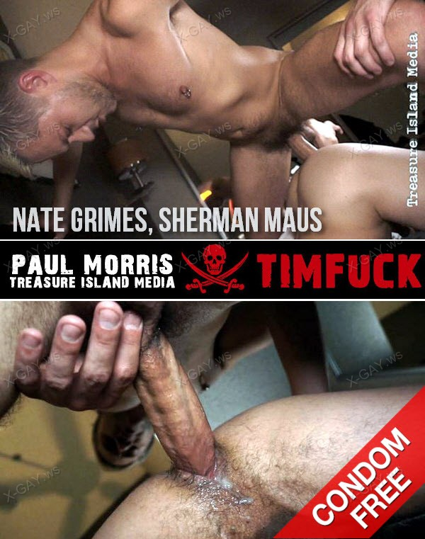 TimFuck: Kenny's Raw Fucks Vol 1, Scene 5 (Nate Grimes, Sherman Maus) (Bareback)