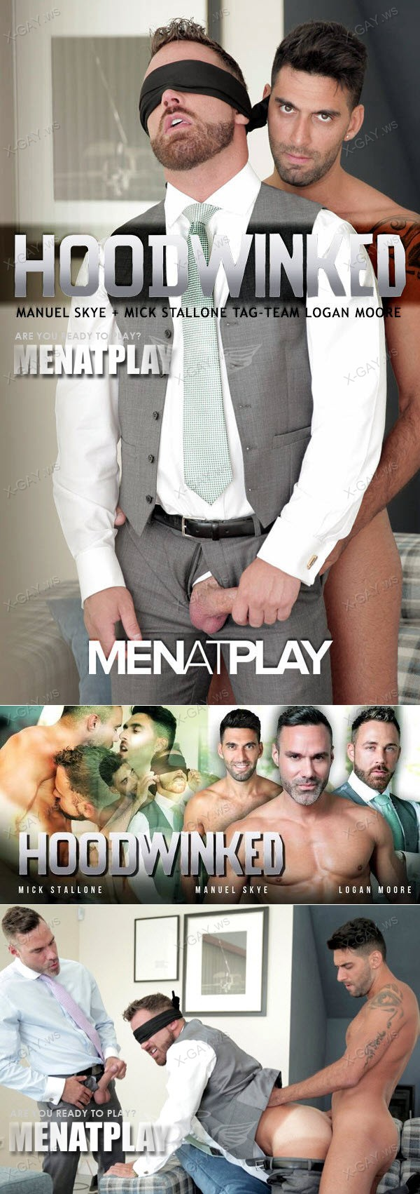MenAtPlay: Hoodwinked (Mick Stallone, Manuel Skye, Logan Moore)