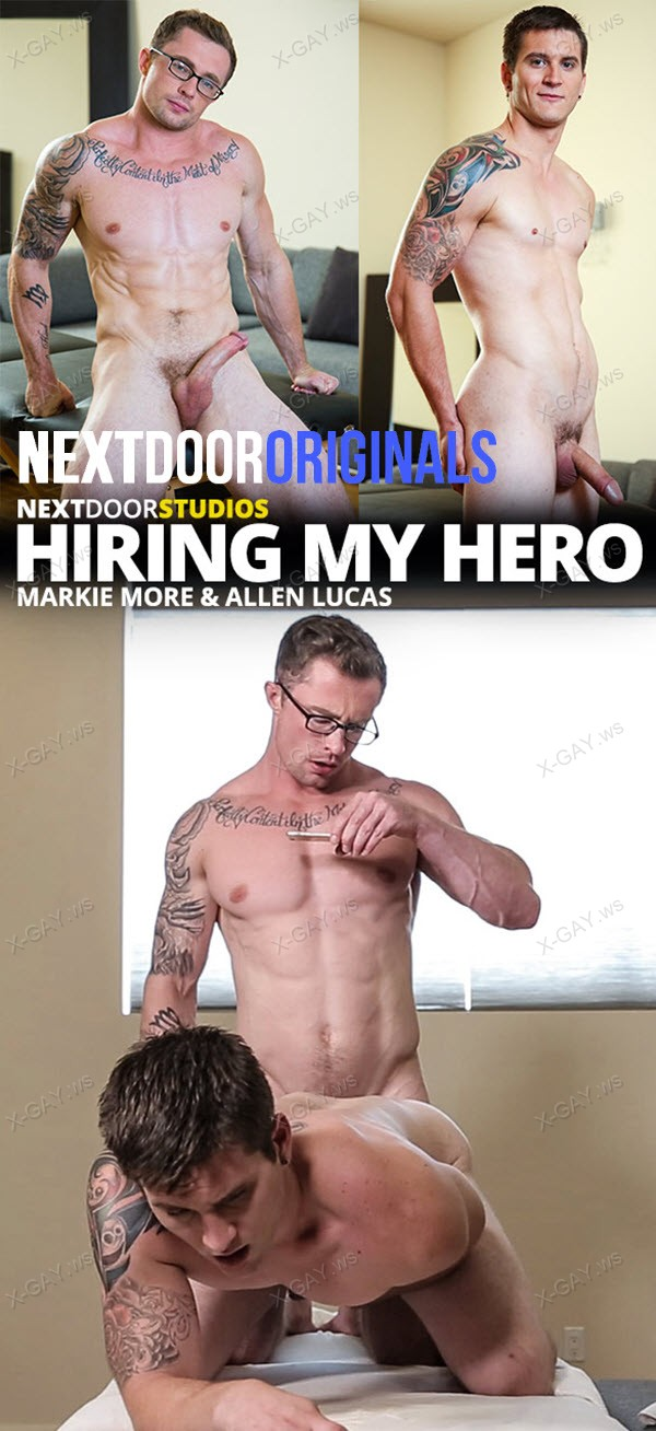 NextDoorOriginals: Hiring My Hero (Markie More, Allen Lucas)