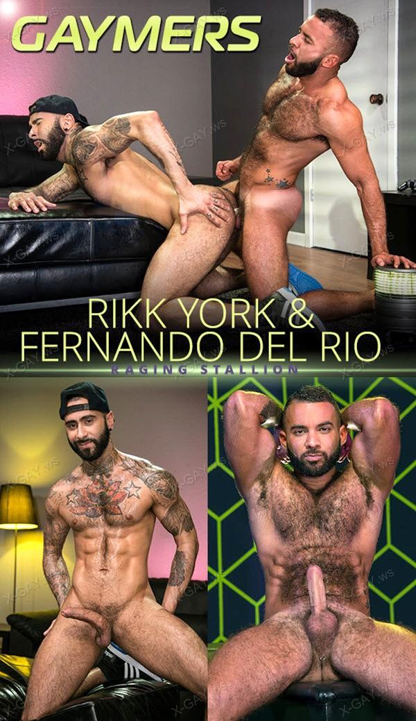 RagingStallion: Gaymers (Rikk York, Fernando Del Rio)