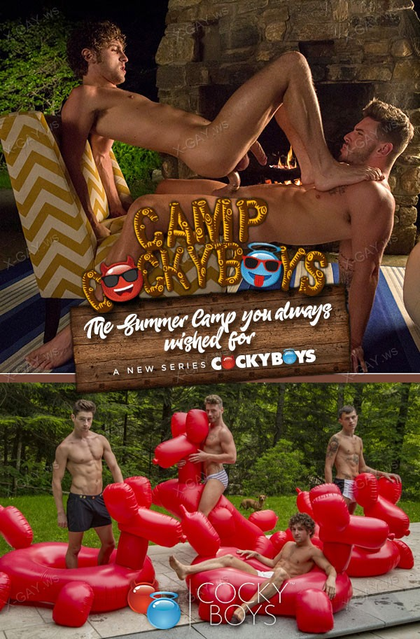 "CockyBoys: Calvin Banks, Josh Moore (Flip Fuck in ""Camp CockyBoys"")"
