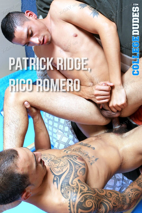 CollegeDudes: Patrick Ridge Gets His Ass Pounded By Rico Romero