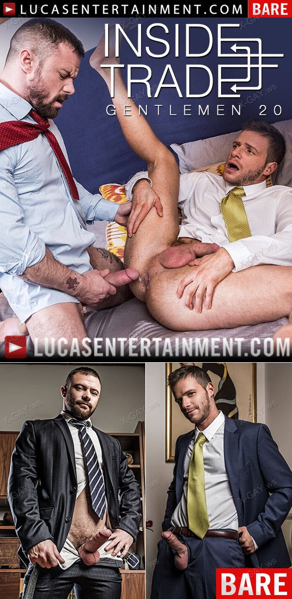 LucasEntertainment: Gentlemen 20: Inside Trade (Sergeant Miles Dominates Brian Bonds' Ass) (Bareback)