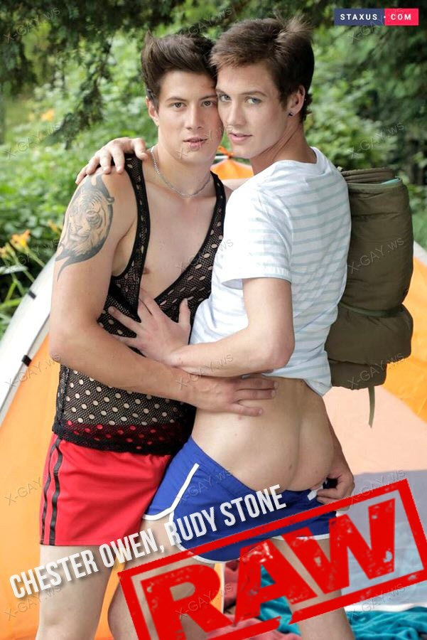 Staxus: Camping About (Chester Owen, Rudy Stone) (Bareback)