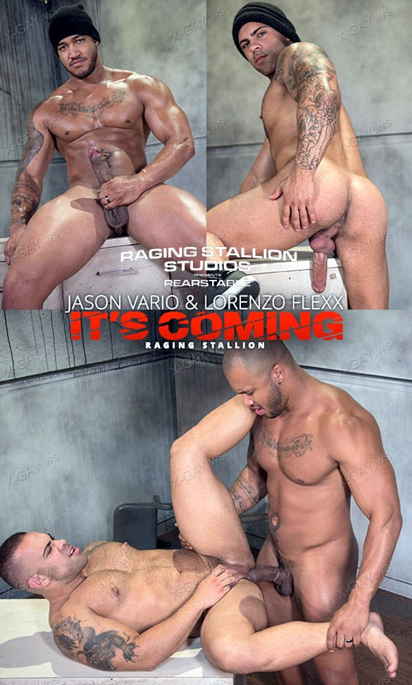 RagingStallion: It's Coming (Jason Vario, Lorenzo Flexx)