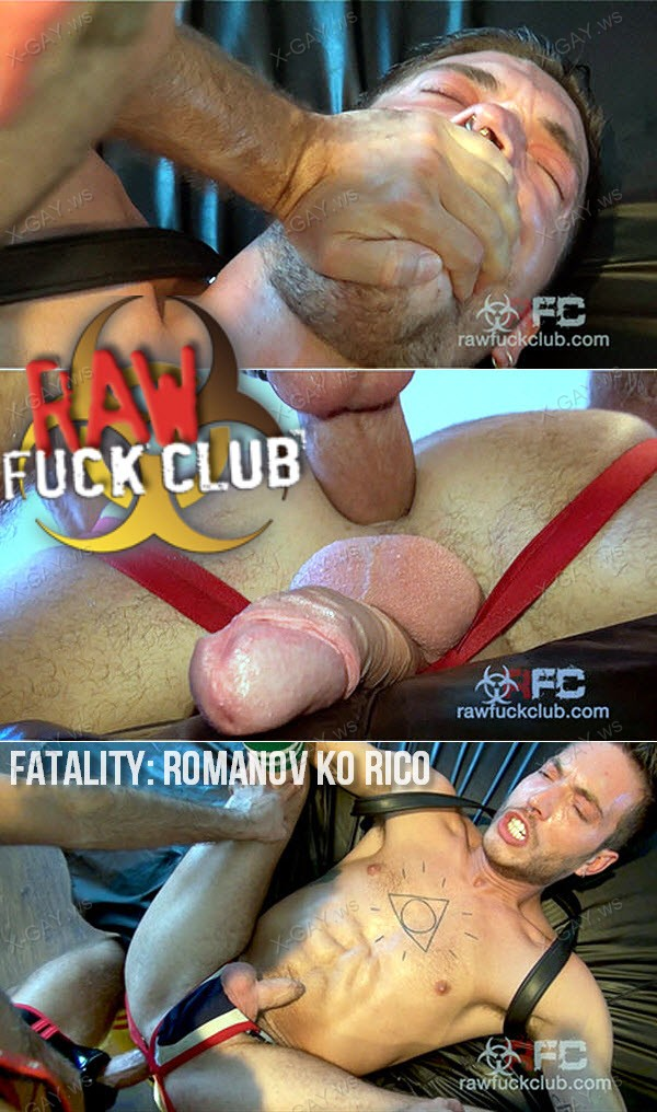 RawFuckClub: Fatality: Romanov KO Rico (Vadim Romanov, Rico Fatale) (Bareback)