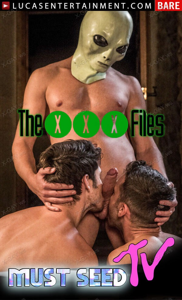 LucasEntertainment: Devin Franco, Damon Heart, Bogdan Gromov (The XXX Files)