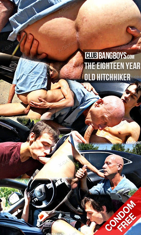 ClubBangBoys: The Eighteen Year Old Hitchhiker