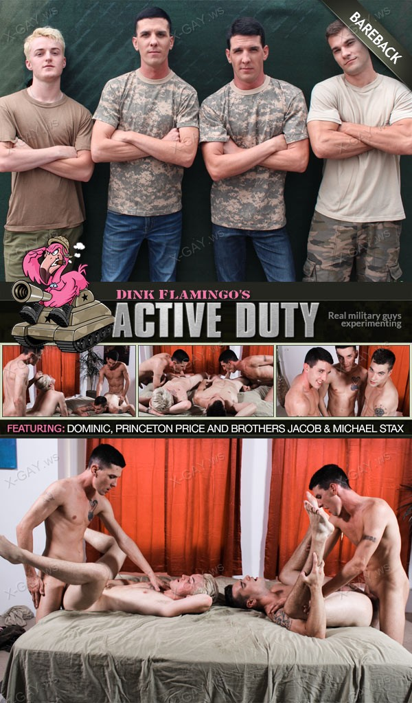 ActiveDuty: Dominic, Princeton Price, Michael Stax, Jacob Stax