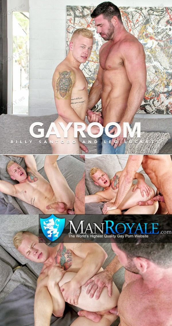ManRoyale: Billy Santoro, Leo Luckett