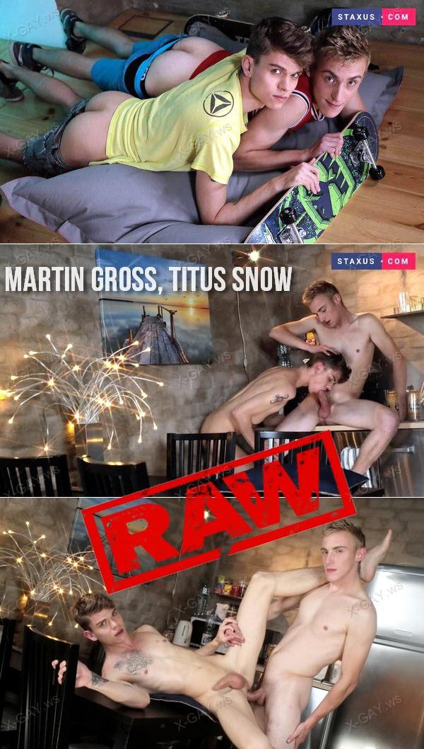 Staxus: Martin Gross, Titus Snow (Skaters) (Bareback)