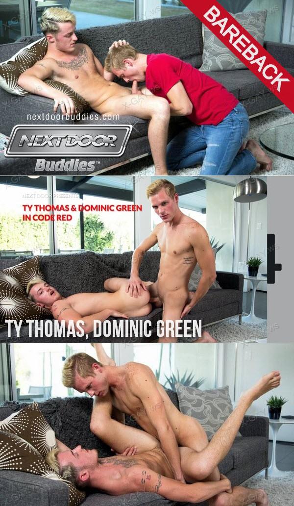 NextDoorBuddies: Ty Thomas and Dominic Green In Code Red