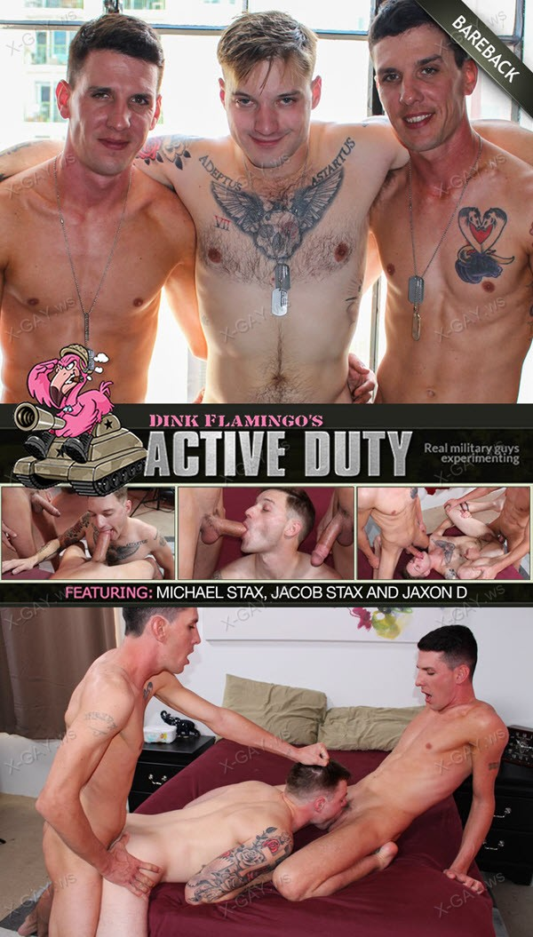 ActiveDuty: Jaxon D, Michael Stax, Jacob Stax